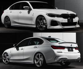3D Design Aero Half Spoiler Kit - Dual (Carbon Fiber) for BMW 3-Series G