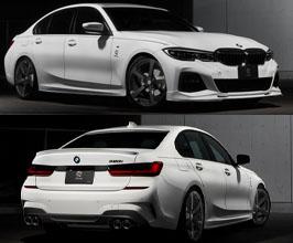 3D Design Aero Half Spoiler Kit - Quad (Carbon Fiber) for BMW 3-Series G