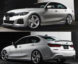 3D Design Aero Spoiler Lip Kit - Quad (Carbon Fiber) for BMW 3-Series G