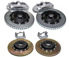 3D Design Brake System by Brembo - Front 6POT 380mm and Rear 370mm for BMW 3-Series G