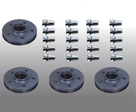 AC Schnitzer Wheel Spacers with Lug Bolts - 10mm Front and 10mm Rear for BMW 3-Series G