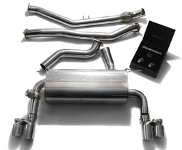 ARMYTRIX Valvetronic Catback Exhaust System with Quad Tips (Stainless) for BMW 4-Series F