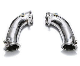 ARMYTRIX Cat Bypass Pipes with Cat Simulators (Stainless) for BMW 5-Series F