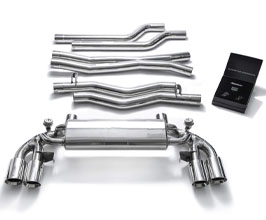 ARMYTRIX Valvetronic Catback Exhaust System (Stainless) for BMW 5-Series F