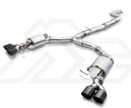 Fi Exhaust Valvetronic Exhaust System with Mid Pipe and Front Pipe (Stainless) for BMW 5-Series F