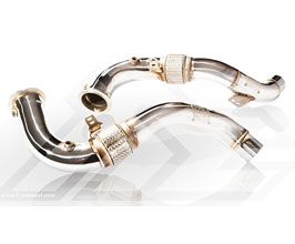 Fi Exhaust Racing Cat Pipe - 100 Cell (Stainless) for BMW 5-Series F