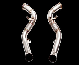 iPE Exhaust Cat Bypass Pipes (Stainless) for BMW 5-Series F