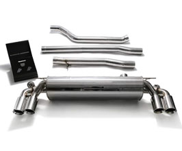 ARMYTRIX Valvetronic Catback Exhaust System with Quad Tips (Stainless) for BMW 5-Series G