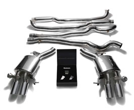 ARMYTRIX Valvetronic Catback Exhaust System with Quad Tips (Stainless) for BMW 6-Series F