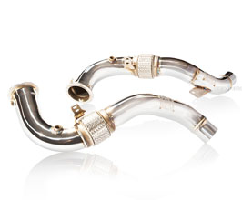 Fi Exhaust Racing Cat Pipe - 100 Cell (Stainless) for BMW 6-Series F