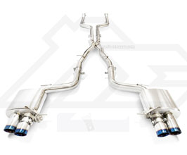Fi Exhaust Valvetronic Exhaust System with Mid Pipe and Front Pipe (Stainless) for BMW 6-Series F