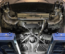 Fi Exhaust Valvetronic Exhaust System with Mid Pipe and Front Pipe (Stainless) for BMW 6-Series G