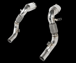 iPE Exhaust Cat Pipes - 200 Cell (Stainless) for BMW 8-Series G