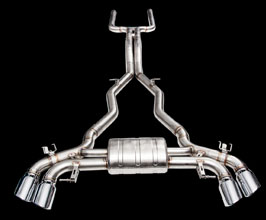 iPE Exhaust Valvetronic Exhaust System with X-Pipe and Front Pipe (Stainless) for BMW M5 F
