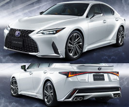 Exterior for Lexus IS 3 Late