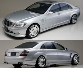 Exterior for Mercedes S-Class W221