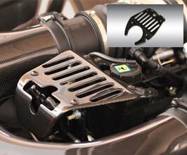 Novitec Water Reservoir Cover (Carbon Fiber) for Ferrari 458