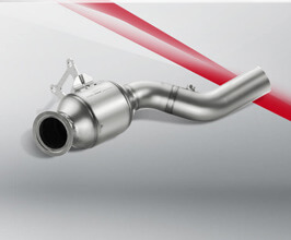 Akrapovic Lightweight High-flow Catalyst Link Pipes for Ferrari 458