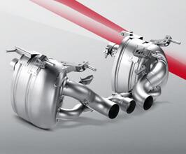 Akrapovic Titanium Slip-on Performance Exhaust System for Ferrari 458