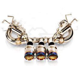 Fi Exhaust Race Version Valvetronic Exhaust System with Remote for Ferrari 458