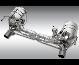 Novitec Power Optimized Exhaust System without Flap (Inconel) for Ferrari 458