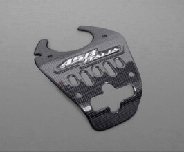 Capristo F458 Italia Lock Cover (Carbon Fiber) for Ferrari 458