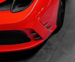 Capristo Front Fins (Carbon Fiber) for Ferrari 458