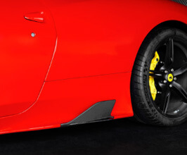 Capristo Side Fins (Carbon Fiber) for Ferrari 458