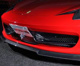 Leap Design Aero Front Duct Wings (Carbon Fiber) for Ferrari 458