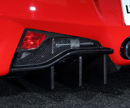 Leap Design Rear Fog Lamp Covers (Carbon Fiber)
