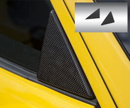 Novitec Side Window Triangle Covers (Carbon Fiber)