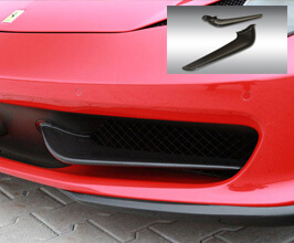 Novitec Front Grill Wings (Carbon Fiber) for Ferrari 458