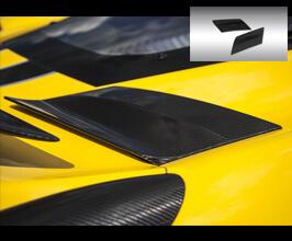 Novitec Sidewall Air Intake Flaps (FRP) for Ferrari 458