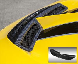 Novitec Front Trunk Lid Air Guide (FRP) for Ferrari 458