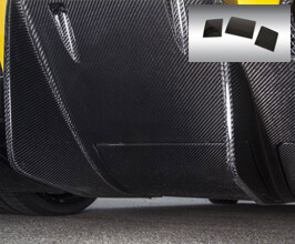 Novitec Air Opening Covers for Rear Diffuser (Carbon Fiber) for Ferrari 458