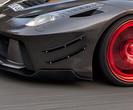 PRIOR Design PD458 Front Bumper Cup Wings x4 (FRP)