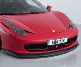 AIMGAIN Sport Front Under Spoiler (Dry Carbon Fiber) for Ferrari 458
