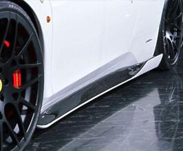 Auto Veloce Super Veloce Racing Side Skirts (FRP) for Ferrari 458