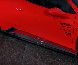 Leap Design Aero Side Skirts (Carbon Fiber) for Ferrari 458