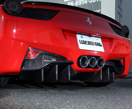 Leap Design Aero Rear Diffuser (Carbon Fiber)