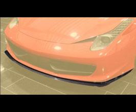 MANSORY Front Lip Spoiler Add-On (Carbon Fiber) for Ferrari 458