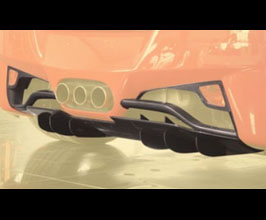 MANSORY Rear Diffuser Add-On (Carbon Fiber) for Ferrari 458