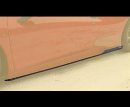 MANSORY Side Skirt Add-Ons (Carbon Fiber) for Ferrari 458