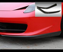 Novitec Front Lip Spoilers (FRP) for Ferrari 458