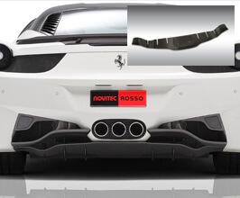 Novitec Rear Skirt (FRP) for Ferrari 458