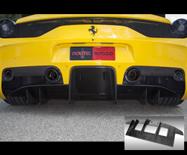 Novitec Rear Diffuser (Carbon Fiber) for Ferrari 458