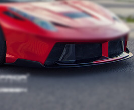 PRIOR Design PD458 Front Spoiler Lip (FRP) for Ferrari 458