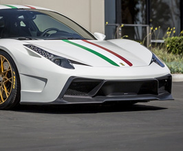Vorsteiner 458-VX Aero Front Bumper with Lip Spoiler (Carbon Fiber) for Ferrari 458