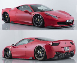 AIMGAIN Sport Aero Under Spoiler Kit (Dry Carbon Fiber) for Ferrari 458