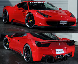 Leap Design Aero Full 6-Point Spoiler Kit (Carbon Fiber) for Ferrari 458